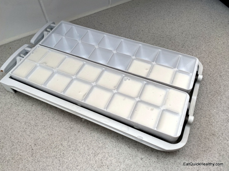 Coconut milk in ice tray for how long can you freeze coconut milk