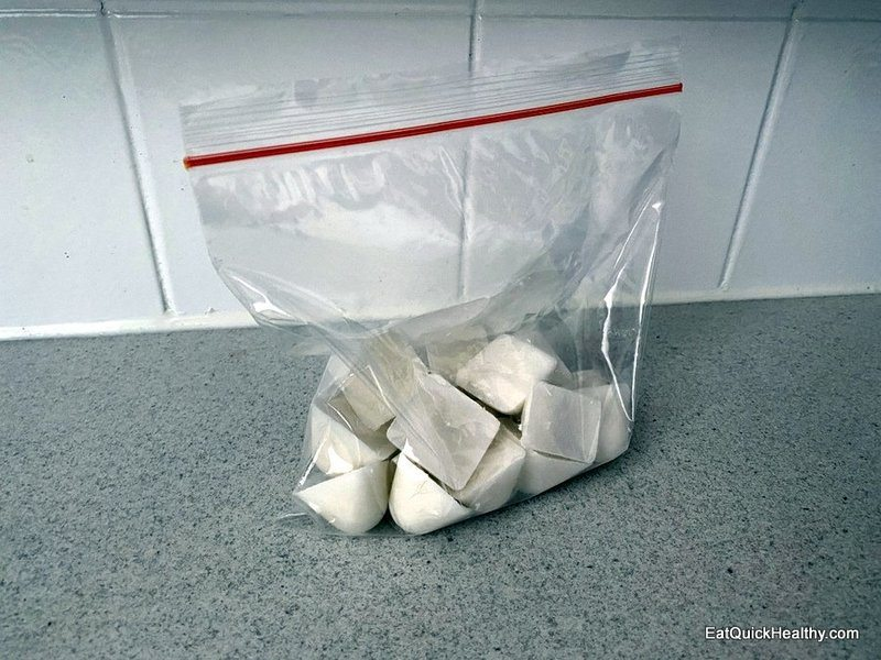 Frozen coconut milk cubes - can i freeze coconut milk from a tin