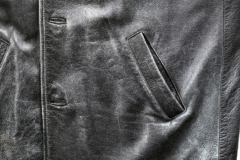coconut oil leather jacket